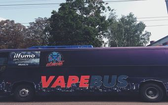 VAPEBUS посетил Брянск!