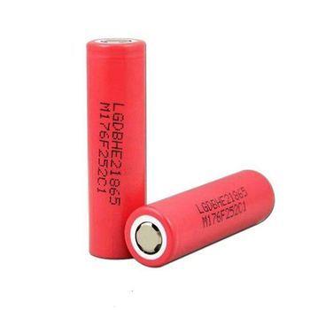 Аккумулятор LG IСR18650 HE2 2500mAh 20A (термоусадка LG HG2)