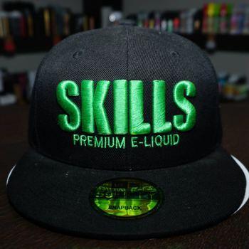 Головной убор Кепка Skills,  Черно-зеленый