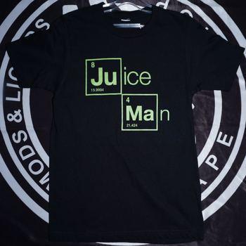 Juice Man Футболка, Черный XS