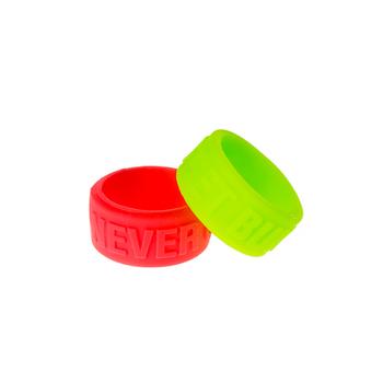 Силиконовое кольцо Never Get Burn красный