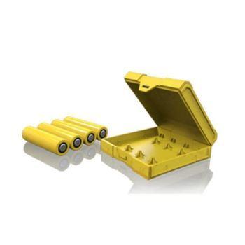Чехол для аккумуляторов Chubby Gorilla BATTERY CASE 4 слота желтый