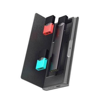 Зарядное устройство JUUL кейс Jmate P4 1200 mAh Черный