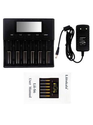 Зарядное устройство LiitoKala Lii-S6