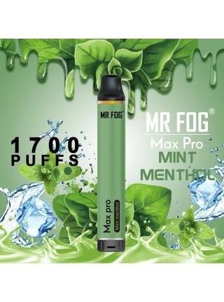 Набор Mr.fog max pro 5% 1700 puffs Mint menthol