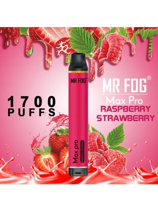 Набор Mr.fog max pro 5% 1700 puffs raspberry strawberry
