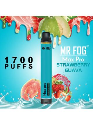 Набор Mr.fog max pro 5% 1700 puffs strawberry guava