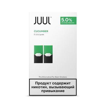 Сменный картридж для JUUL Cool Cucumber 2шт 0.7мл 50мг