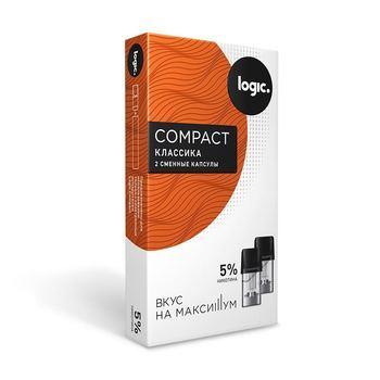 Сменный картридж для Logic Compact Классика 2шт 1.6мл 50мг