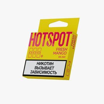 Сменный картридж HOT SPOT для JUUL Fresh Mango 3шт 20мг