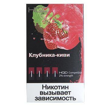 Сменный картридж HQD pods для JUUL Клубника Киви 4шт 1мл 20мг