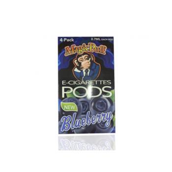 Сменный картридж Magic Puff pods для JUUL Blueberry 4шт 1мл 50мг