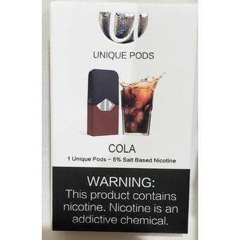 Сменный картридж Unique Pods для JUUL Coca-Cola 1шт 1мл 50мг