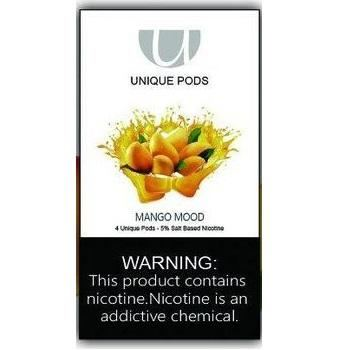 Сменный картридж Unique Pods для JUUL Mango 1шт 1мл 50мг