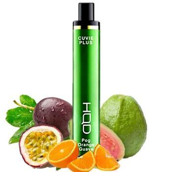 Набор HQD CUVIE Plus 2% 1200 puffs Pog Orange Guava