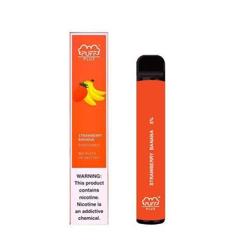Набор Puff Bar Plus 5% 800 puffs STRAWBERRY BANANA