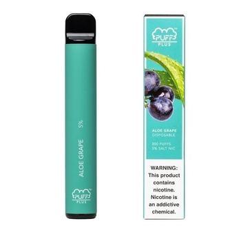 Набор Puff Bar Plus (ST) 2% 800 puffs Aloe grape