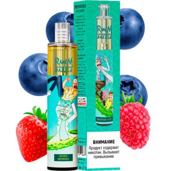 Набор RANDM DAZZLE 2% 2000 puffs (LED,microUSB) Mixed Berries