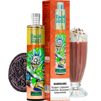 Набор RANDM DAZZLE 2% 2000 puffs (LED,microUSB) Oreo Milkshake