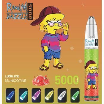 Набор RANDM Dazzle 5000 2% 5000 puffs (LED,microUSB) Арбуз с холодком