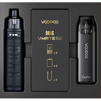 Набор VOOPOO Drag X+Vmate Pod Gift Set Dark Classic|Grey