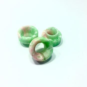 #11 ACD 810 Drip Tip Green|Pink