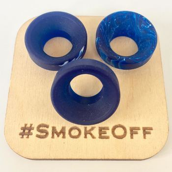 #12 ACD 810 Low Drip Tip Blue Mixed