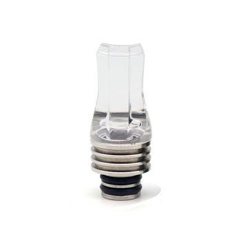 #60 MTL Drip tip 510 Clear