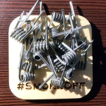 Готовая спираль Mohawk Alien coil SS 0.14Ом