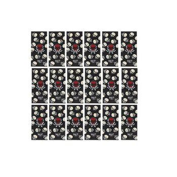 Термоусадка для аккумуляторов 18650 (Skull)
