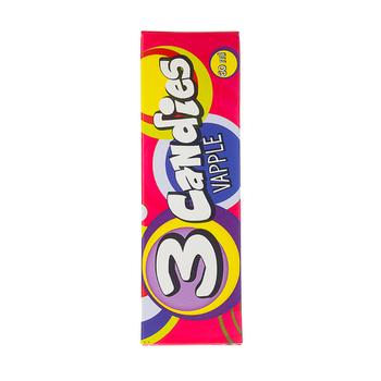 Жидкость 3 Candies Vapple 60мл