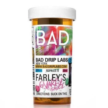 Жидкость Bad drip Farley's Gnarly Sauce Salts 30мл