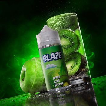 Жидкость BLAZE Apple Kiwi Splash 100мл