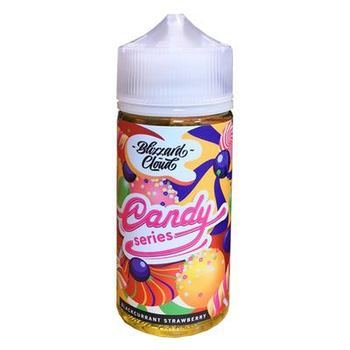 Жидкость  Blizzard cloud Candy series STRAWBERRY BLACKCURRANT 100мл