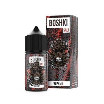 Жидкость Boshki Salt Черные double tx 30мл