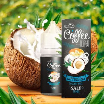 Жидкость COFFEE-IN SALT Cappuchino & Coconut 30мл