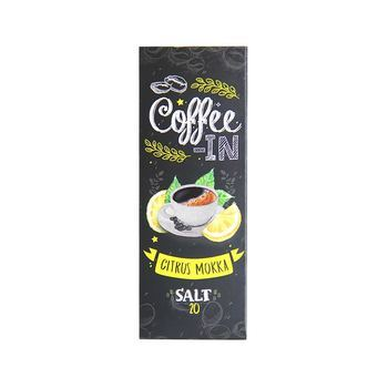 Жидкость COFFEE-IN SALT Citrus Mokka 30мл