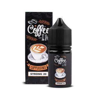 Жидкость COFFEE-IN STRONG Cappuchino 30мл