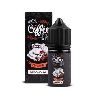 Жидкость COFFEE-IN STRONG Hot Chocolate 30мл