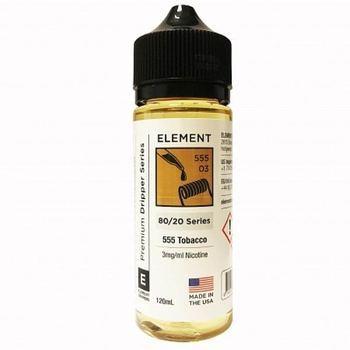 Жидкость Element E-Liquid 555 Tobacco 120мл