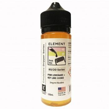 Жидкость Element E-Liquid Pink Lemonade + Key Lime Cookie 120мл
