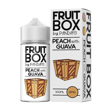 Жидкость Fruitbox Peach with Guava (+BOOSTER) 100мл