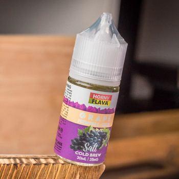 Жидкость Horny Lemonade SALT Grape 10мл