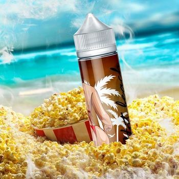 Жидкость Hot Beach Жаркий попкорн 100мл