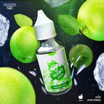 Жидкость Husky White LE Salt Green Land 30мл
