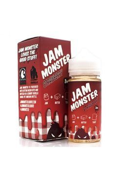 Жидкость Jam Monster Strawberry 100мл