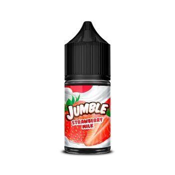 Жидкость Jumble Salt Strawberry Milk 30мл