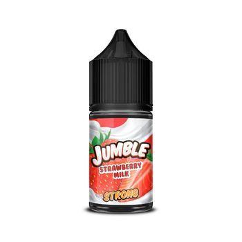 Жидкость Jumble STRONG Strawberry Milk 30мл