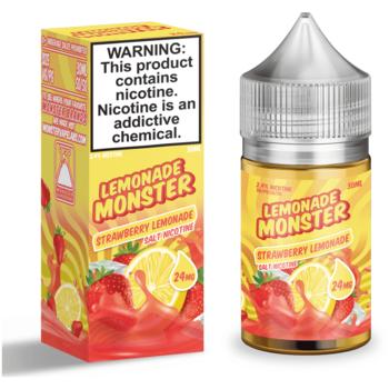 Жидкость Lemonade Monster SALT Strawberry 30мл
