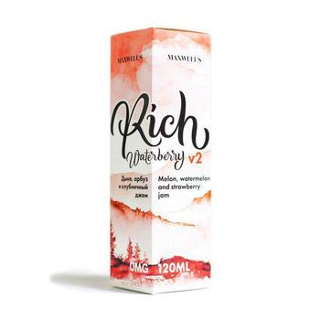 Жидкость Maxwells Rich Waterberry V2 120мл